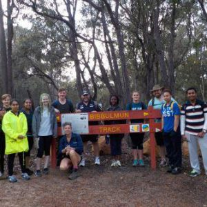 Kent Street High School Students on Bibbulmun Track